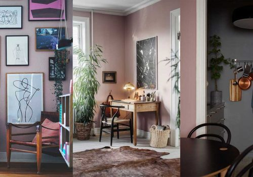 10 Ideas to decorate with the Mauve Color Trend this fall
