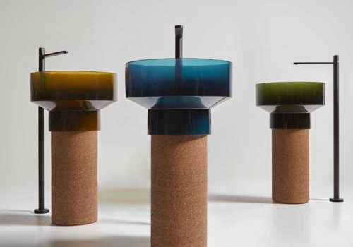 ITALIAN DESIGN | Sustainable sink in recycled cork by antoniolupi