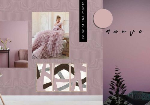COLOR OF THE MONTH | Old-fashioned Mauve – part 1