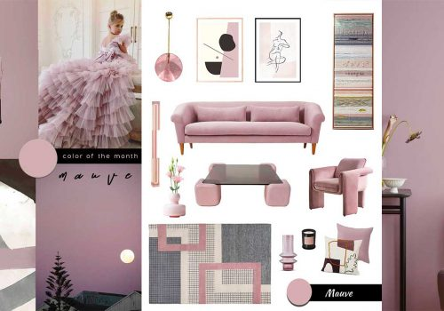 SHOP IT   Sophisticated Millennial Mauve furniture and decor