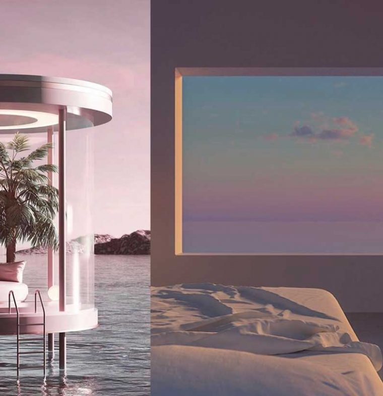 INTERIOR TRENDS   Visual Escapism inspiration in pandemic times