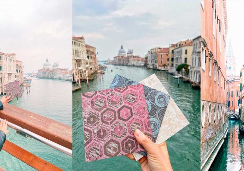 TILE TRENDS 2021   Iridescent tiles by Decoratori Bassanesi inspired by Venice
