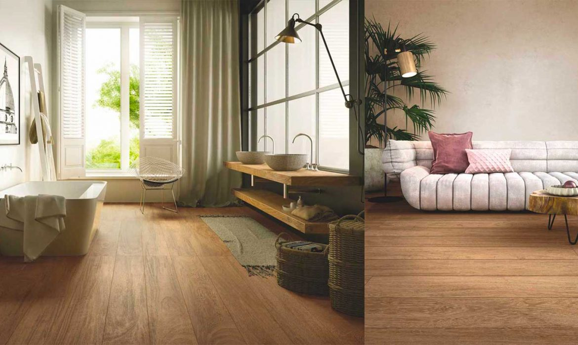 best alternatives to hardwood flooring, Casalgrande Padana, wooden like tiles