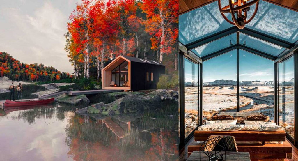 Are tiny houses the homes of the future? Let's go explore the small living trend, one of the top design trends for 2021
