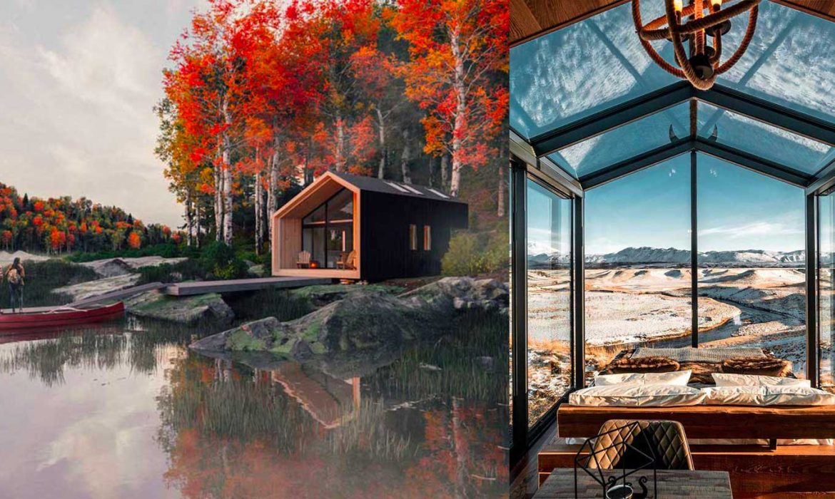 DESIGN TRENDS   Are tiny cabins the homes of the future?