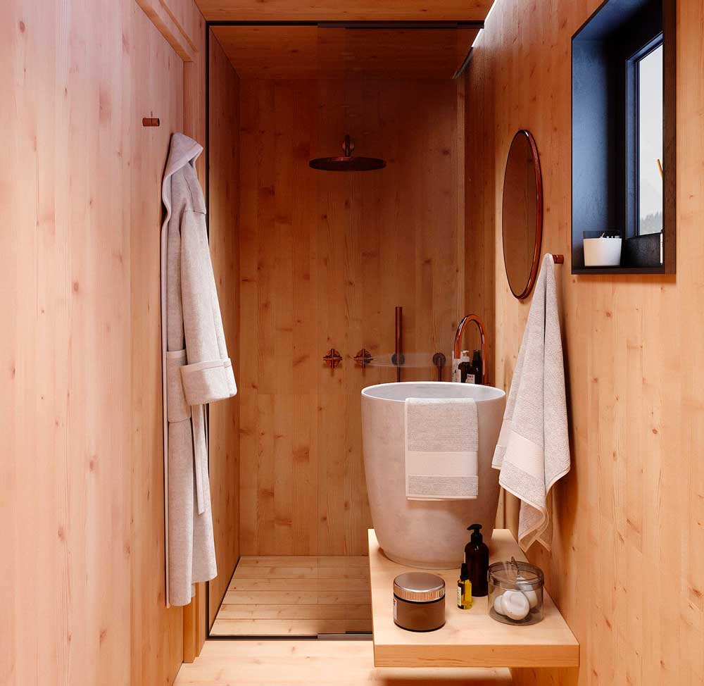 small living trend, tiny houses, cabin design trend