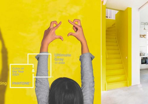COLOR TRENDS | PANTONE COLOR OF THE YEAR 2021 is Grey + Yellow