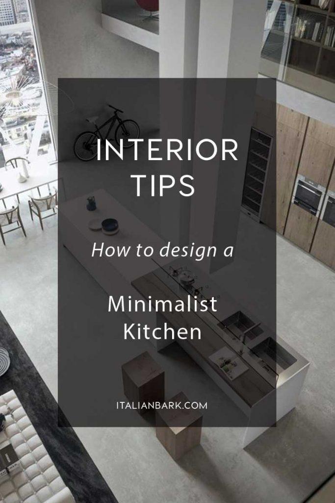 minimalist kitchen design, how to design a minimalist kitchen, modern minimalist kitchen idea, kitchen island modern