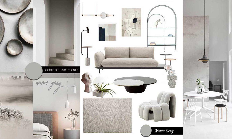 SHOP IT | A Modern Interior in Warm Grey