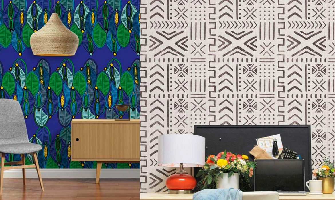 How to choose the right African inspired wallpaper for your home