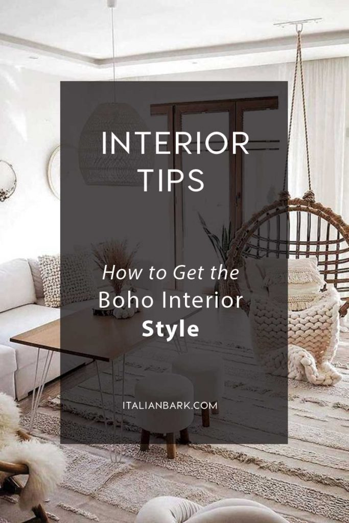 how to get the perfect boho interior style