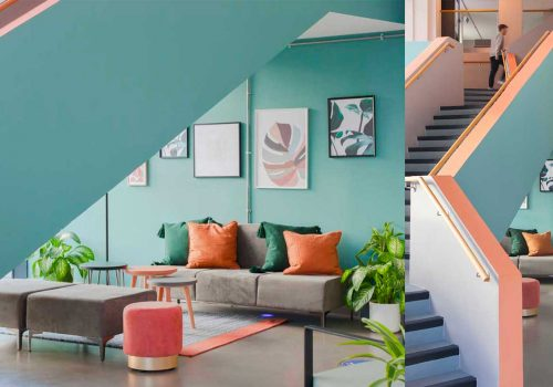 Transforming a Commercial Interior in 2021: Refreshing Colours, Sustainability, and Customer Experience