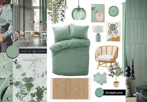 SHOP IT | Relaxing Bedroom Decor in Eucalyptus Green