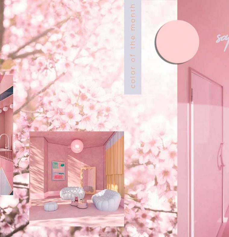 Protected: COLOR OF THE MONTH | Calming and hopeful Sakura Pink – full
