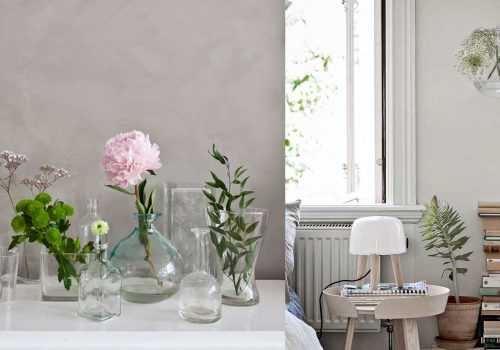 DECOR INSPO | 10 minimalist ideas to Decorate your Home with Flowers ❀