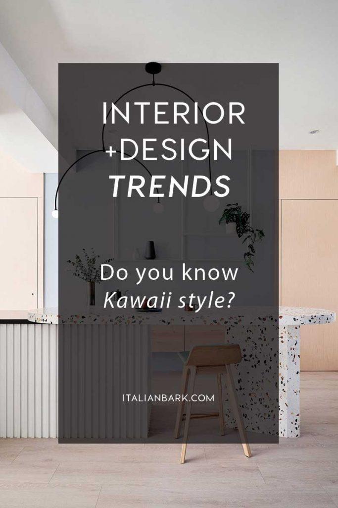 kawaii style, kawaii interior trend, pastel interior design