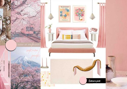 SHOP IT | Pink furniture and decor for a bedroom filled with optimism and mindfulness