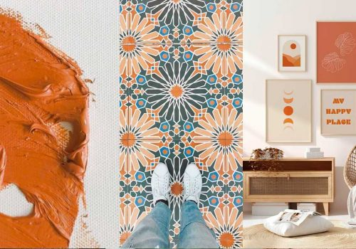 COLOR OF THE MONTH | Desert-vibes with Orange Ochre – part 1