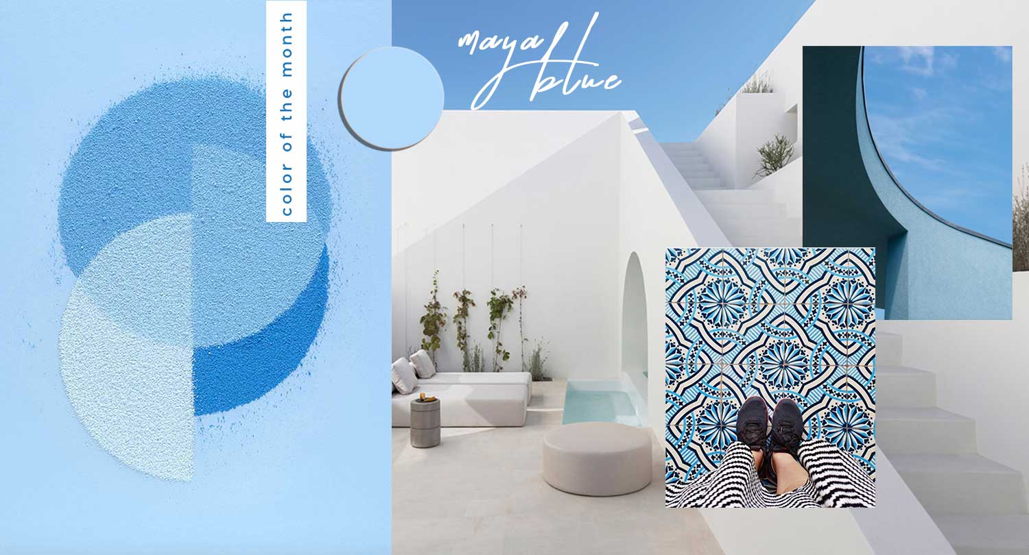 Protected: COLOR OF THE MONTH | Mystical Maya Blue – full